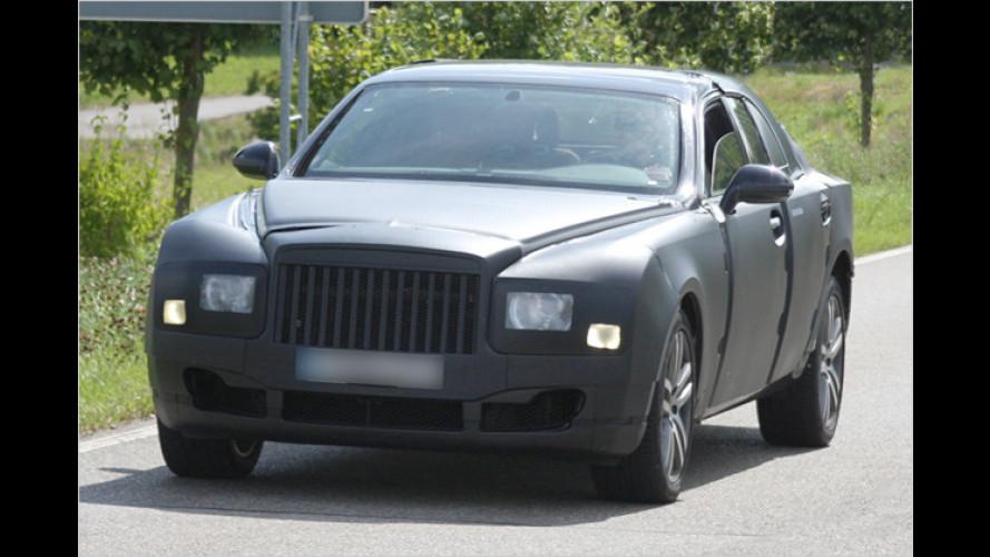Der Nachfolger des Bentley Arnage – als Erlkönig erwischt