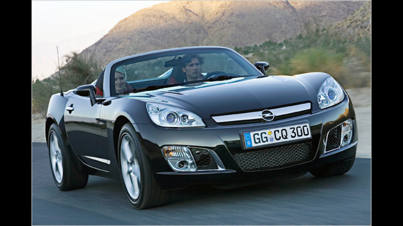 Opel GT und Pontiac Solstice