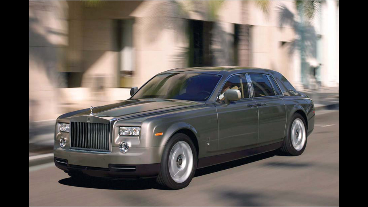Fünf Exemplare: Rolls-Royce Phantom