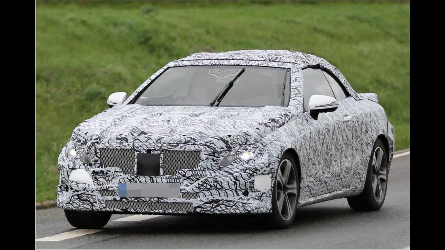 Erwischt: Mercedes E-Klasse Cabrio