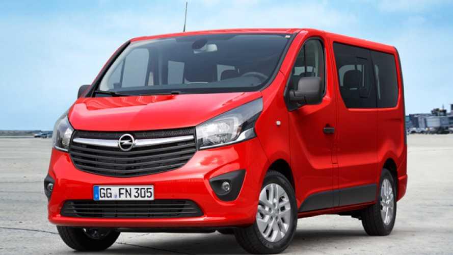 Nuovo Opel Vivaro Combi, anteprima