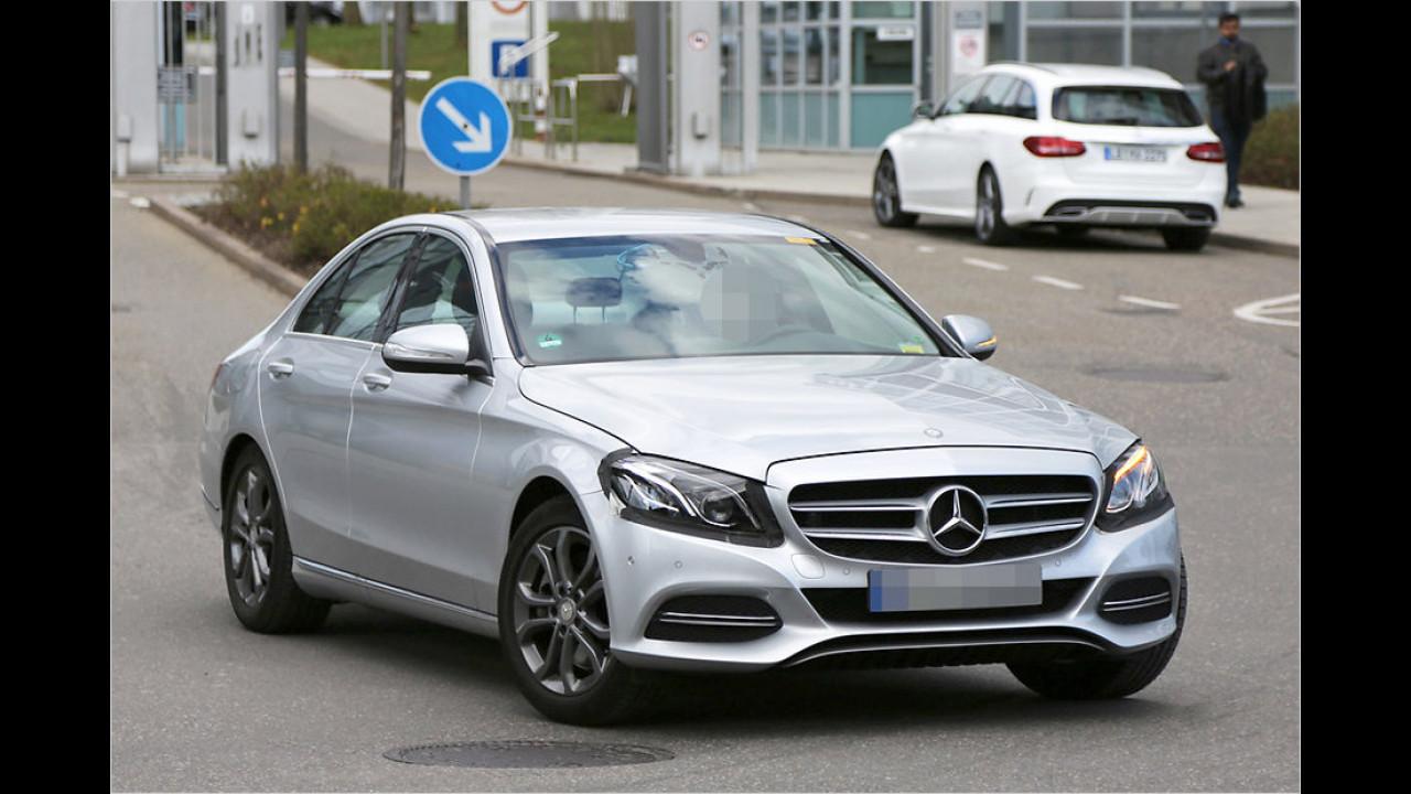 Mercedes C-Klasse Facelift