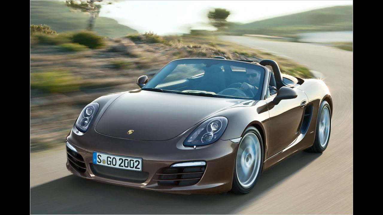 Top: Porsche Boxster, Baujahr 2012, 60 Standtage