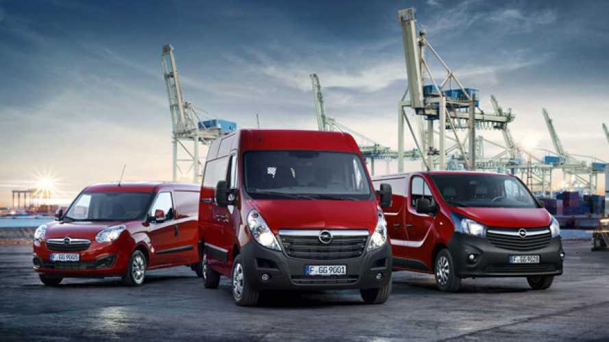 Opel rinnova la sua gamma commerciali