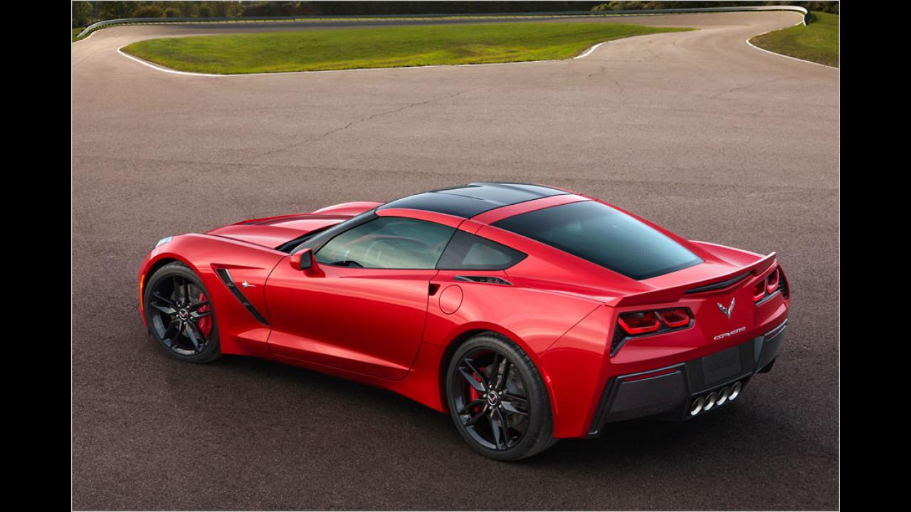 Platz 10: Chevrolet Corvette Stingray