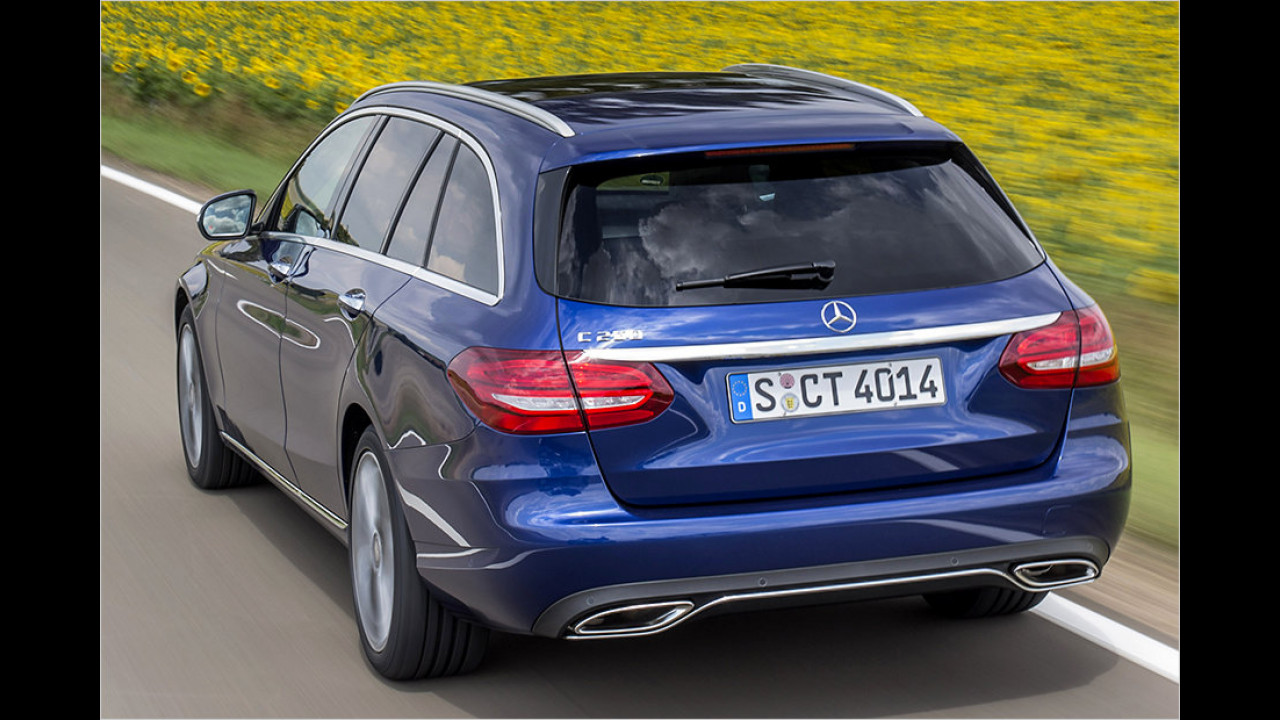 Mercedes: C-Klasse T-Modell