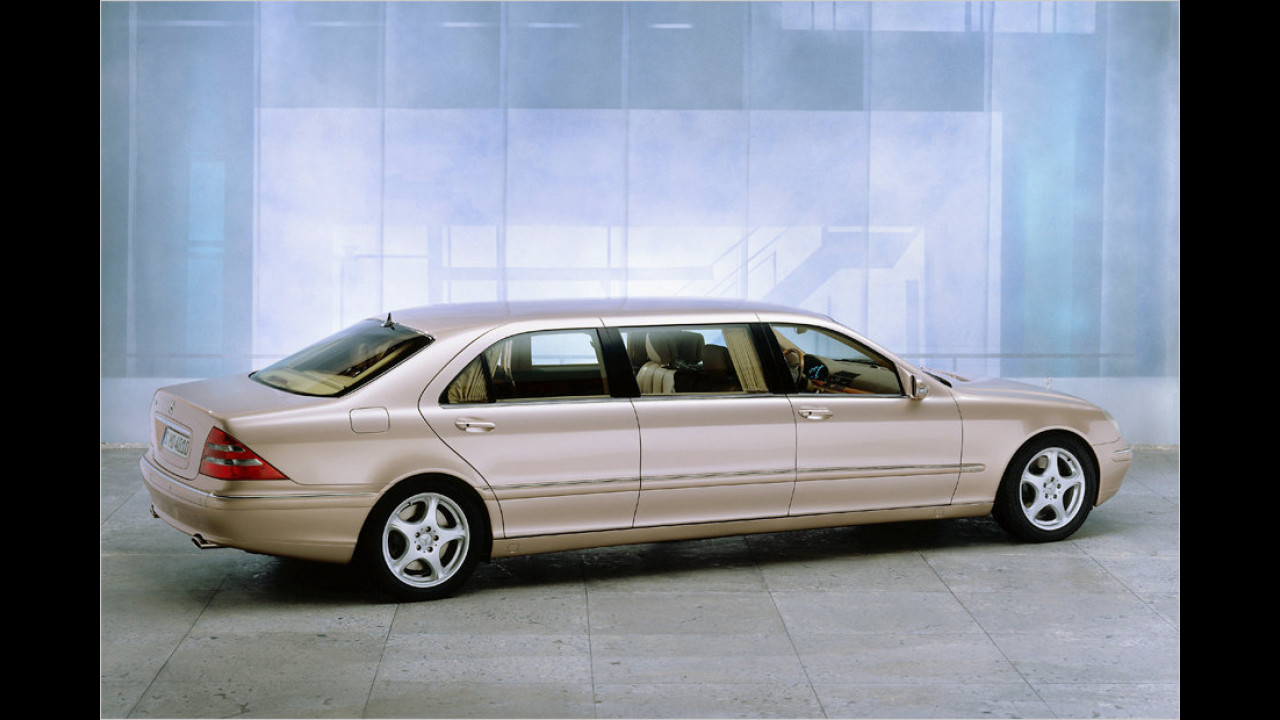 Mercedes S 600 Pullman (2000)