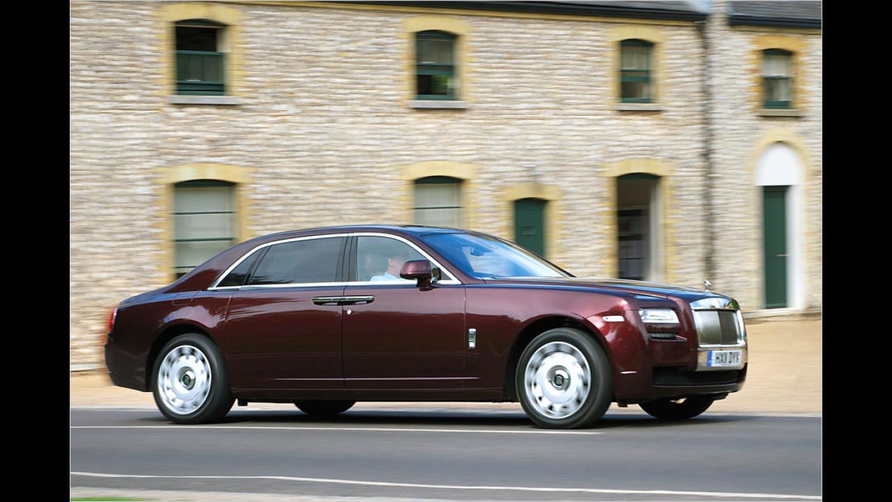 Rolls-Royce gegen Bentley