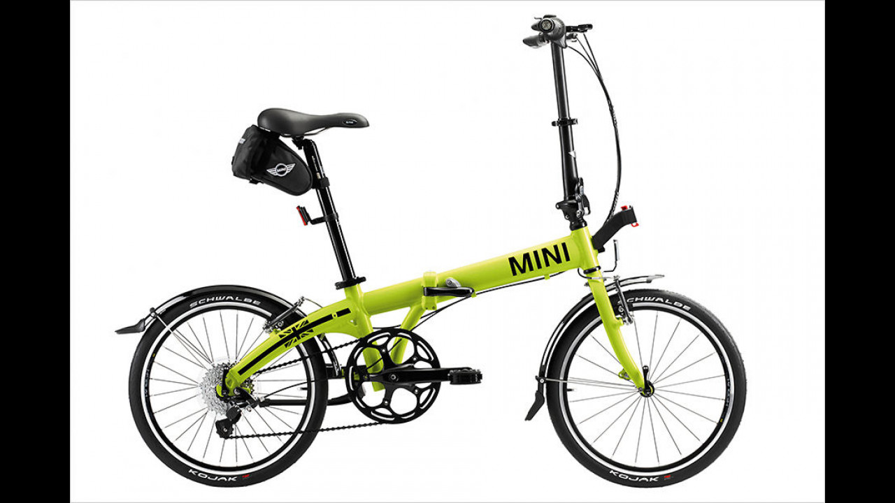 Mini Folding Bike Lime