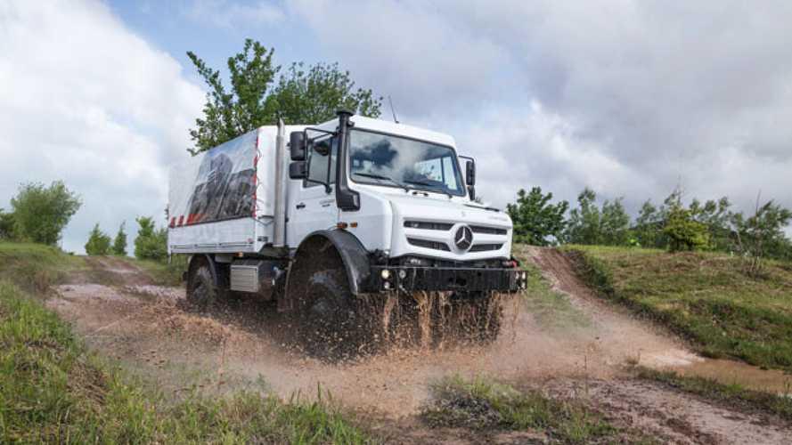 Mercedes, dodici volte Unimog