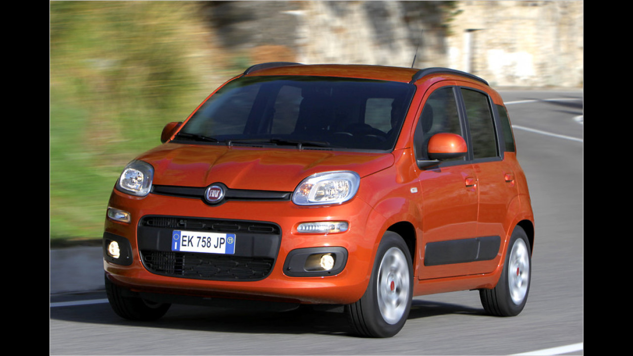 Flop 5 bei Frauen: Fiat Panda (62,6 Punkte)