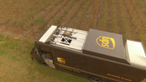 UPS test droni