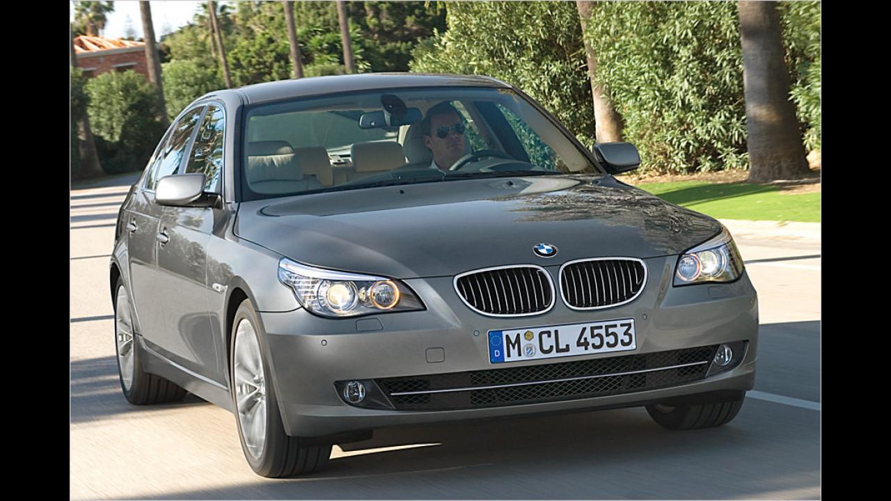 Platz 10: BMW 535d