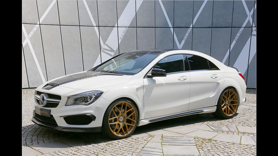 Loewenstein packt saftige 425 PS in den Mercedes-AMG CLA 45
