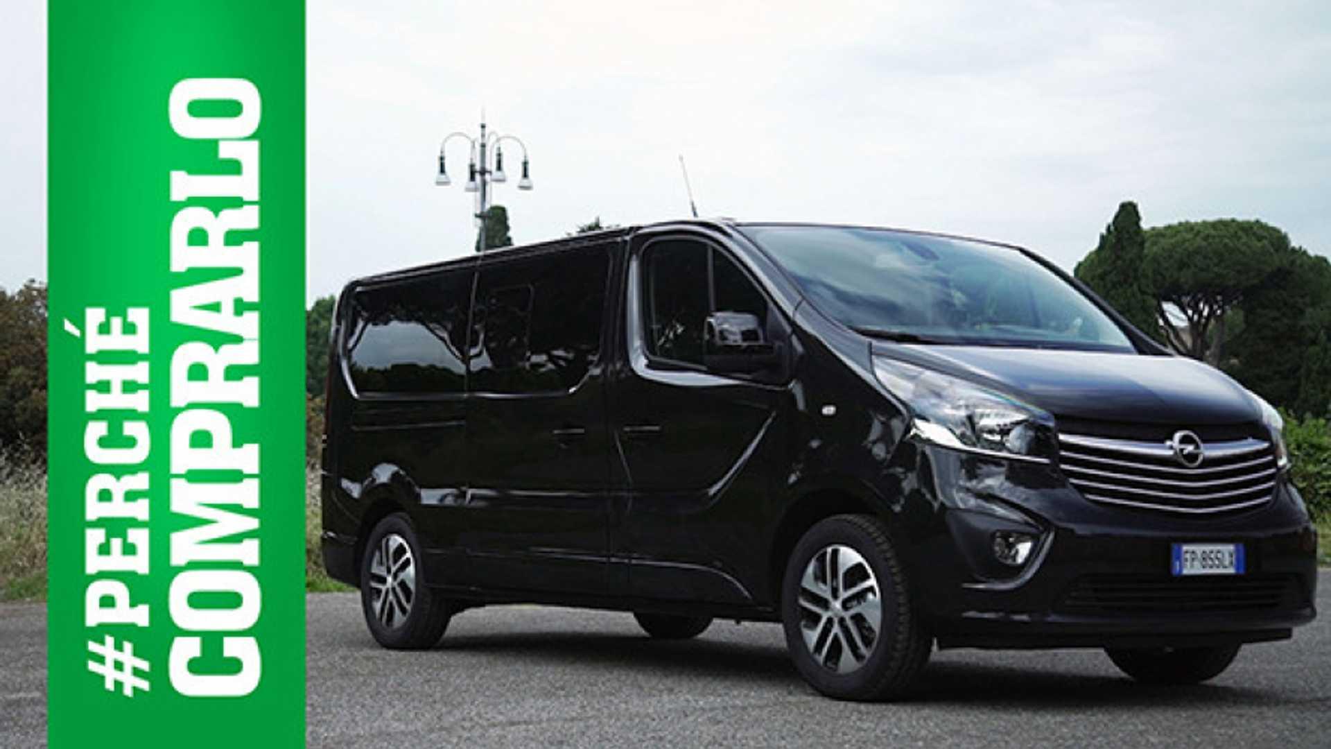 Schemi Elettrici Opel Vivaro : Opel vivaro tourer perché comprarlo e perché no