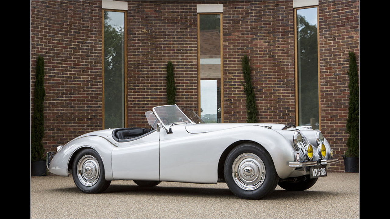 1949 Jaguar XK120 ,Alloy