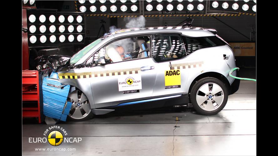 EuroNCAP: Nur vier Sterne für den BMW i3