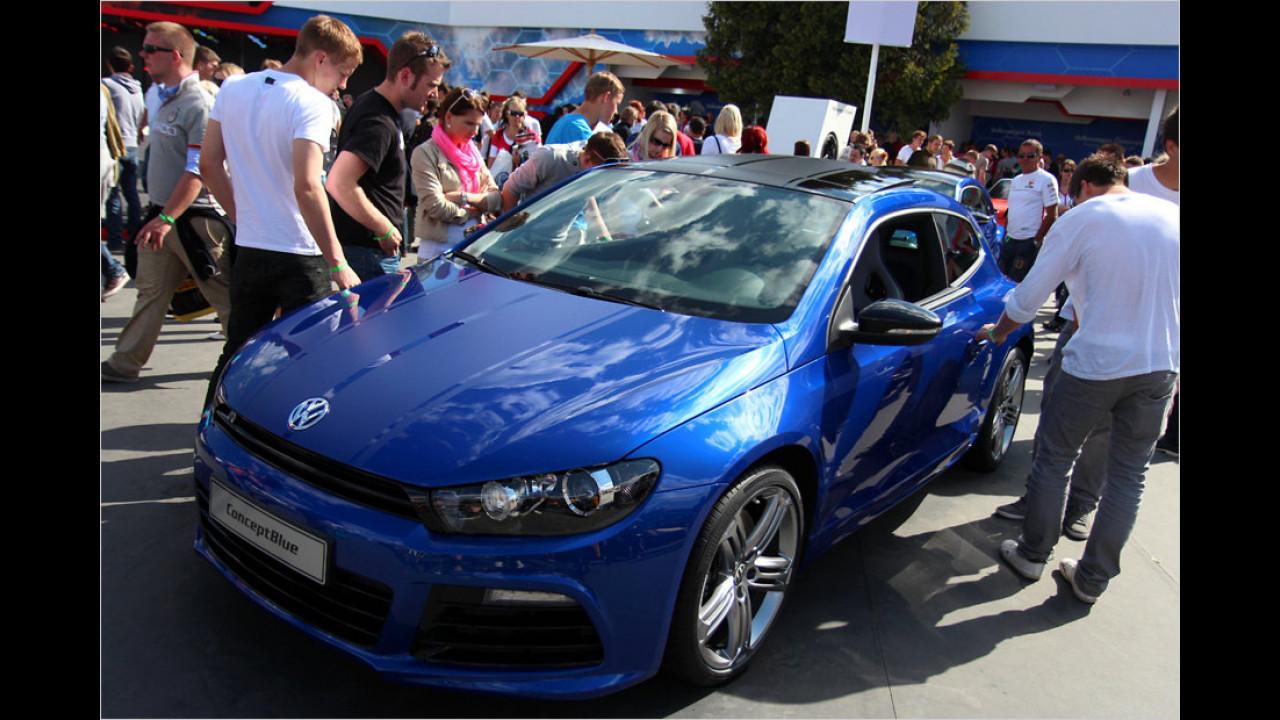 VW Scirocco R ConceptBlue