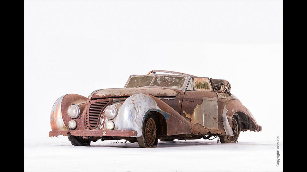 Talbot-Lago T26 Record Cabriolet von Saoutchik (1948)