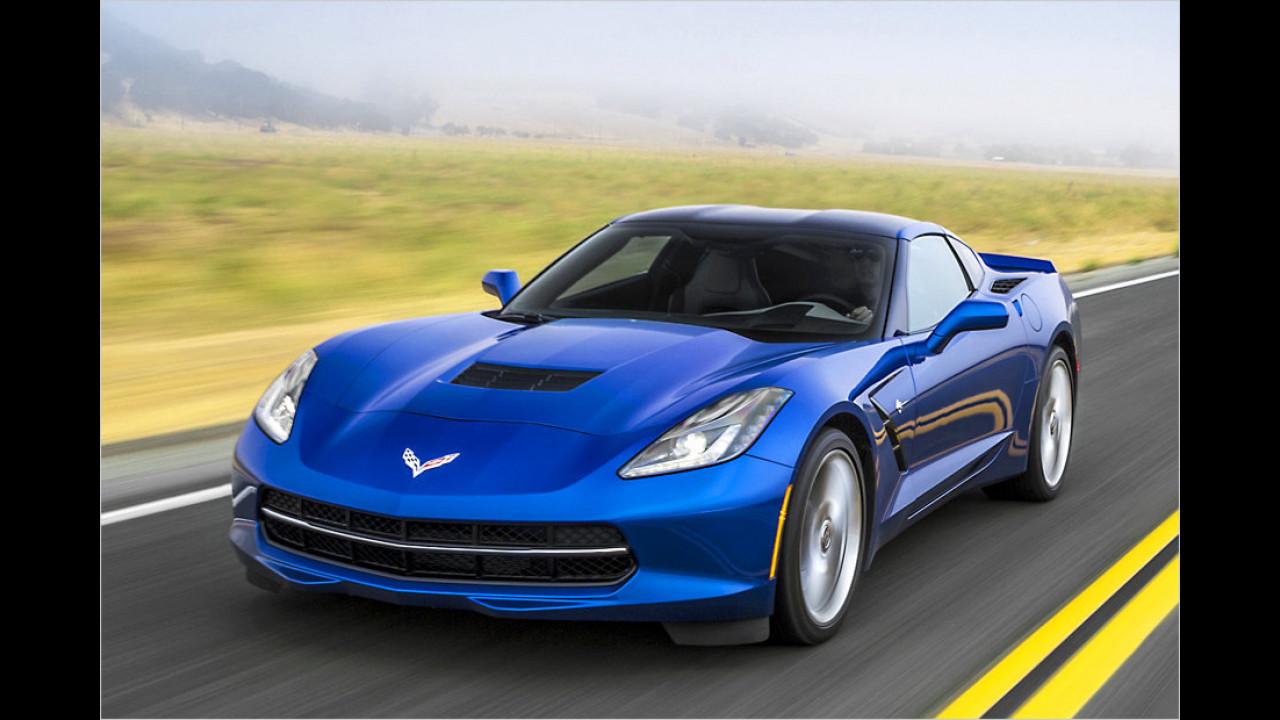 GM: 6,2-Liter-V8 (Chevrolet Corvette Stingray)