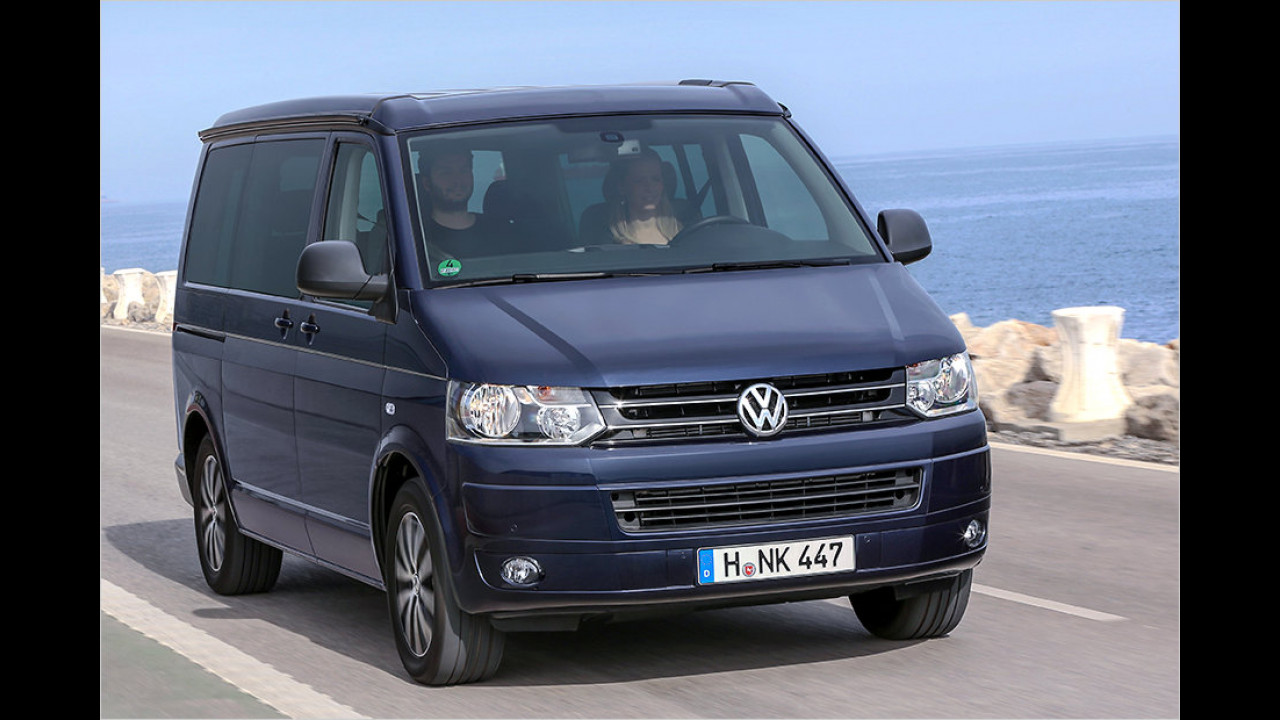 Platz 17: VW T5 Multivan California 1.9 TDI