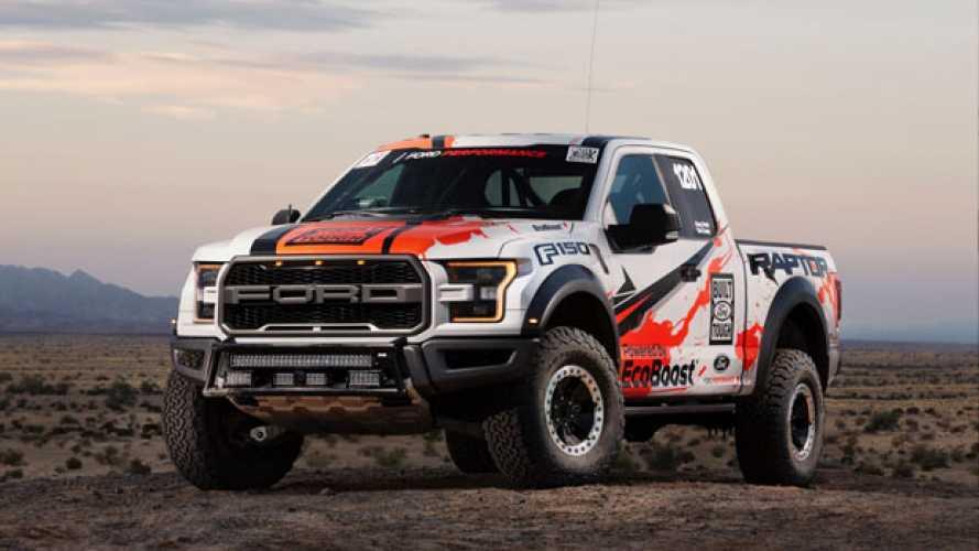 Ford F-150 Raptor pronto per la Baja 1000