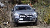 Mercedes-Bens Classe X Prova