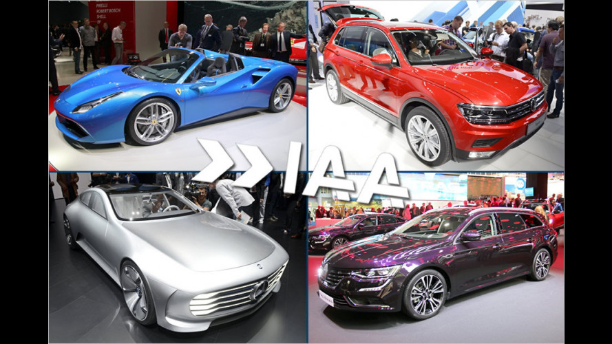 IAA 2015: Die Highlights