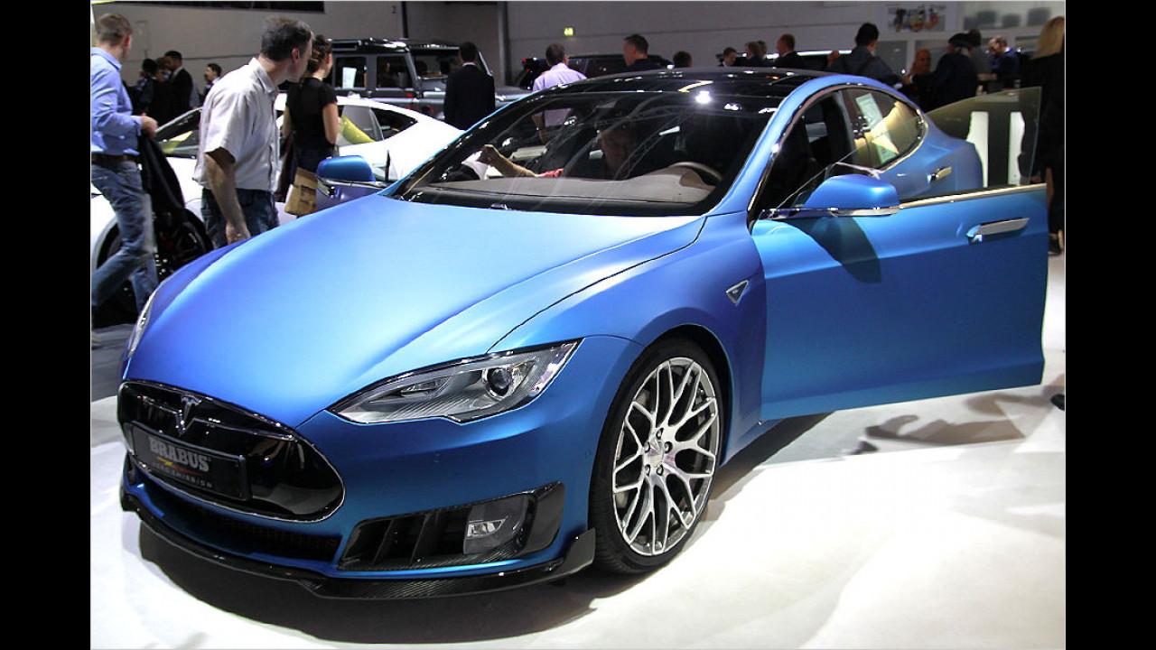 Brabus Tesla S Zero Emission