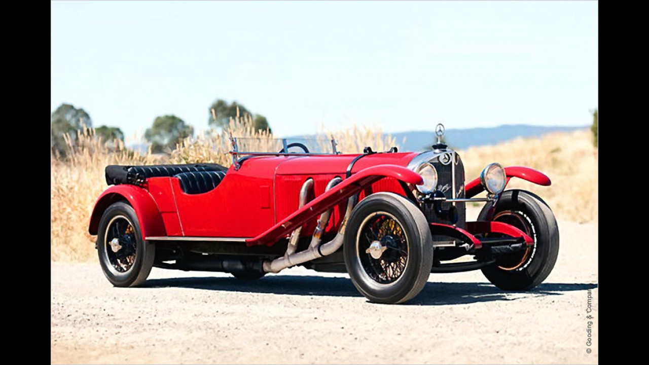 Platz 5 (2011): Mercedes-Benz Typ S 26/180, Baujahr 1927
