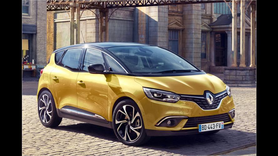 Neuer Renault Scénic debütiert auf Genfer Salon 2012