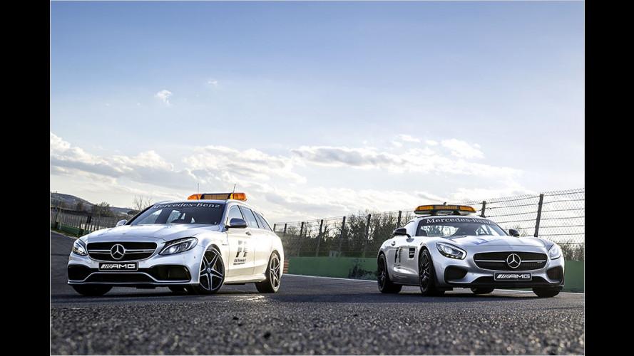 Mercedes-AMG GT: Sicherheit auf der Rennpiste