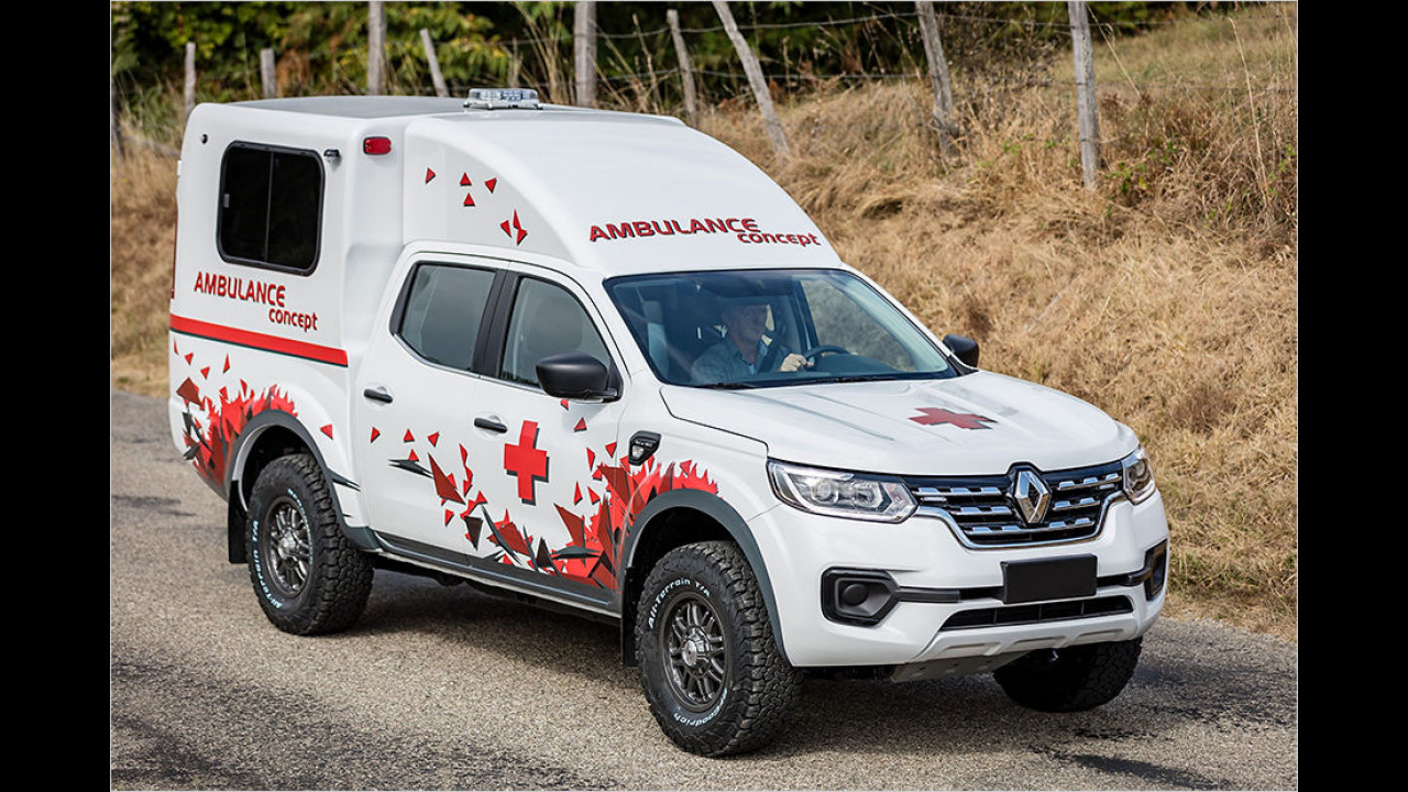 Renault Alaskan Ambulance Concept