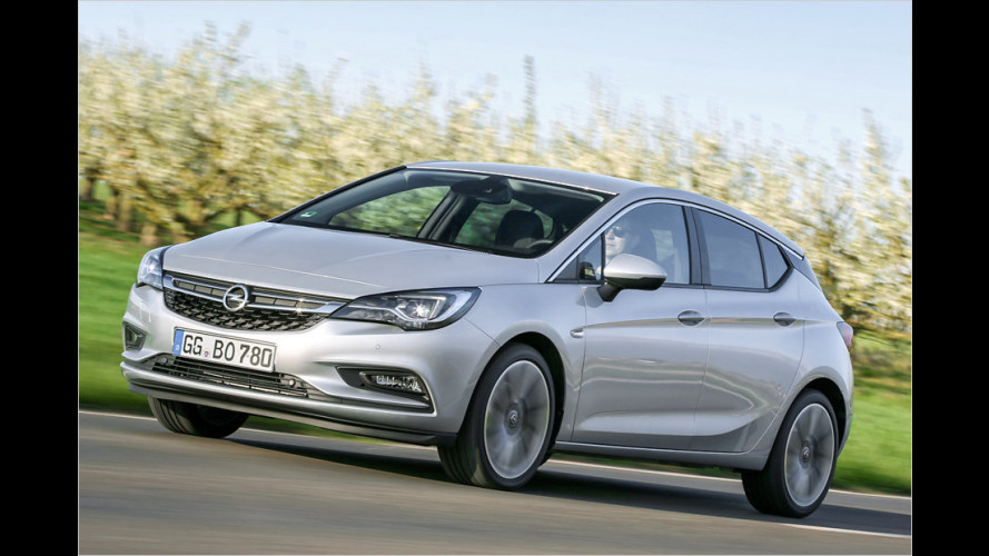 Opel Astra geht mit neuem 160-PS-Diesel an den Start