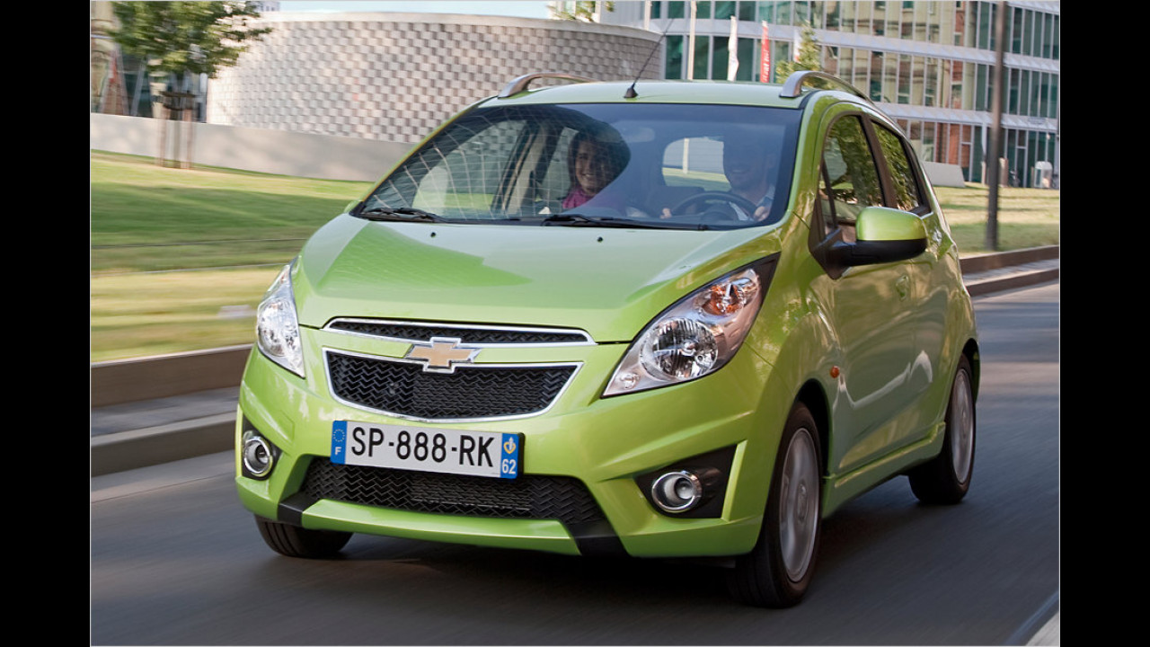 Top: Chevrolet Spark