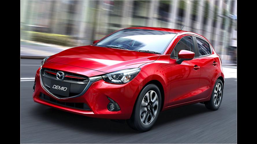 Der Mazda 2 geht studiennah in Serie
