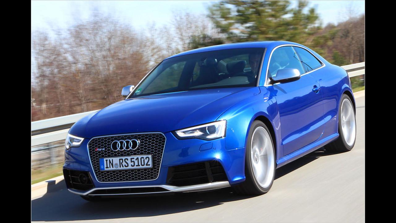 Platz 4: 450 PS im Audi RS 5