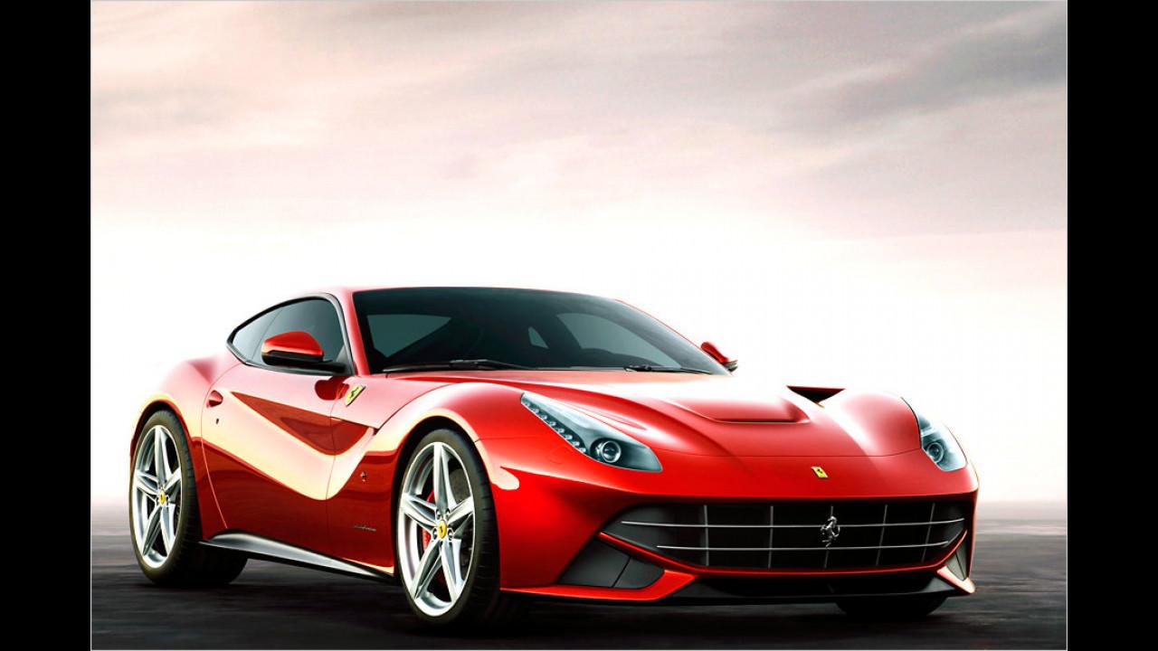 Ferrari F12berlinetta: über 340 km/h