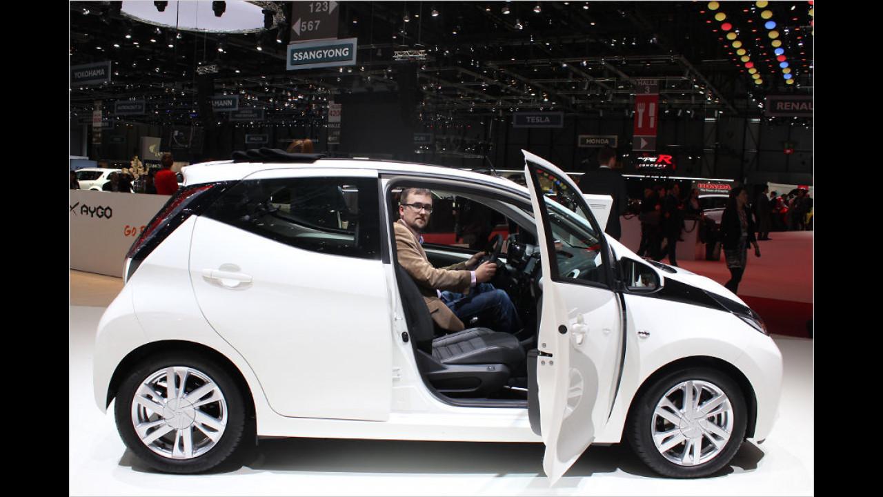 Sitzprobe: Renault Twingo vs. Toyota Aygo