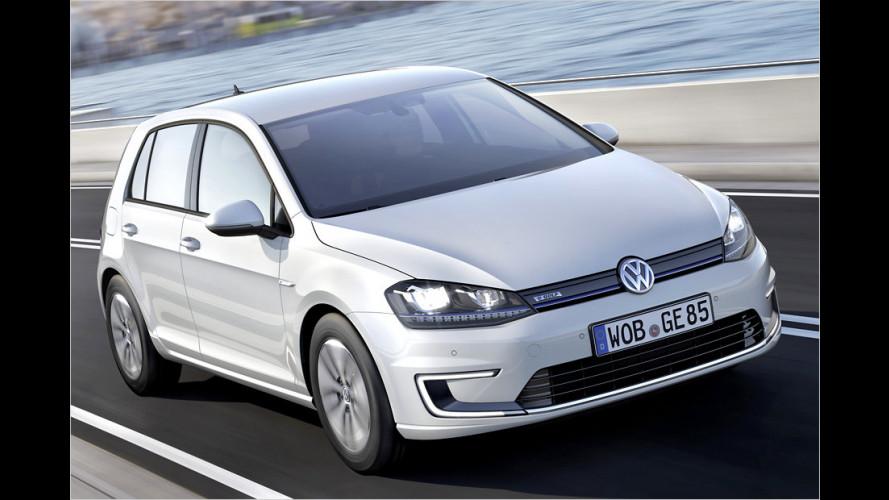 Der Volkswagen e-Golf im Test