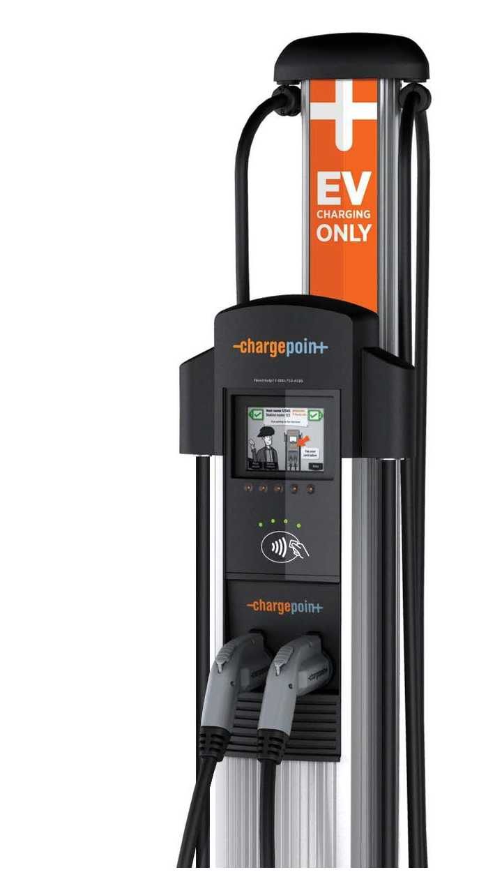 ChargePoint Introduces CT4000-Series Charger with Unique Power Sharing Option