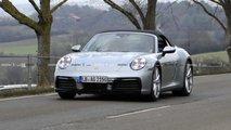 Photos espion Porsche 911 Carrera 4S Cabriolet