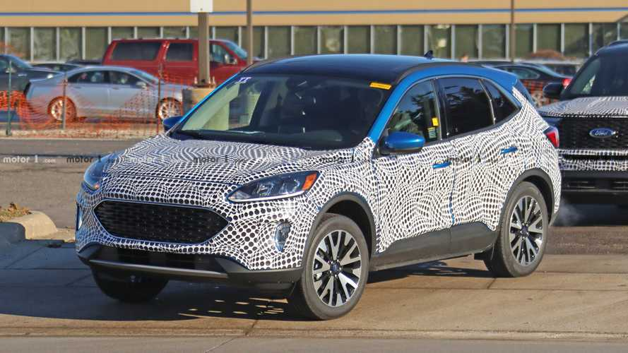 2020 Ford Escape Spied With Little Camo