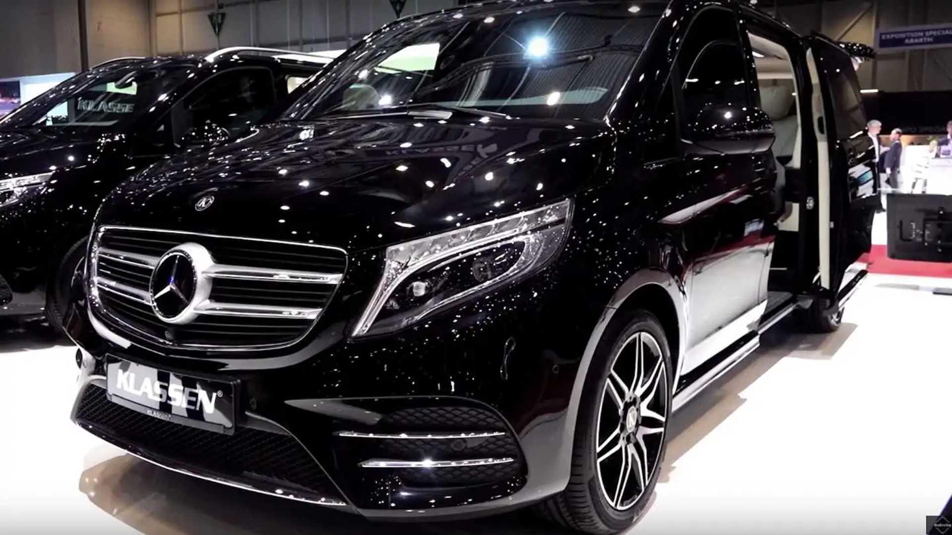 Mercedes V Class >> Mercedes V Class Klassen Is The S Class Of Minivans