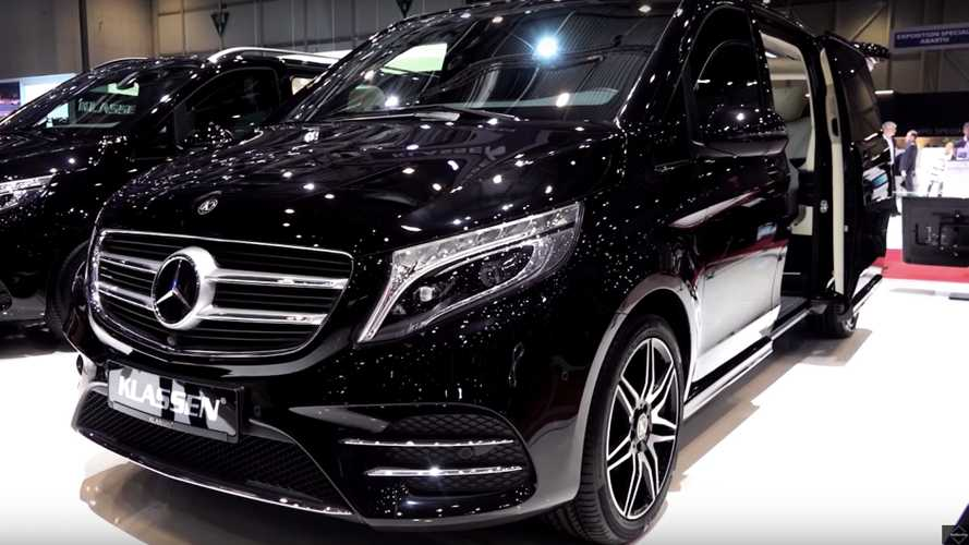 Mercedes V-Class Klassen Is The S-Class Of Minivans