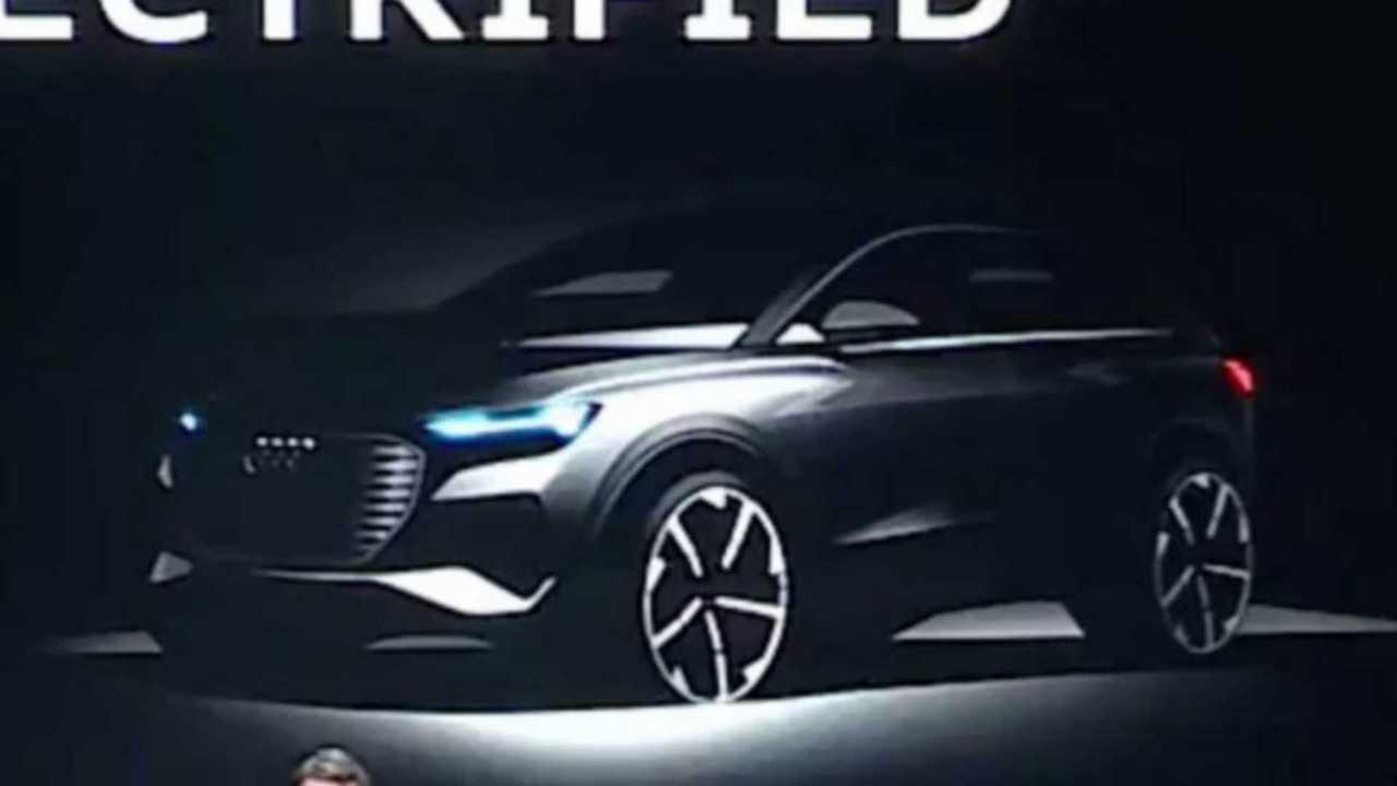 Teaser du futur Audi SUV compact