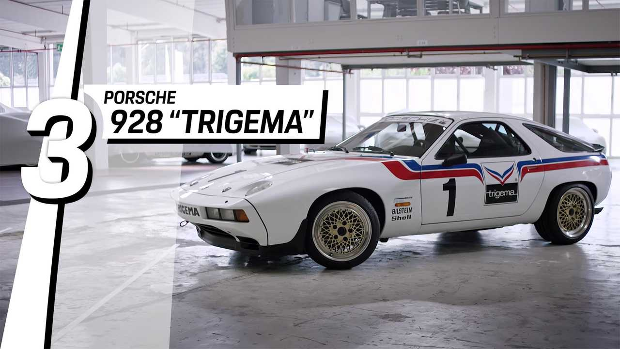 3. Porsche 928 Trigema