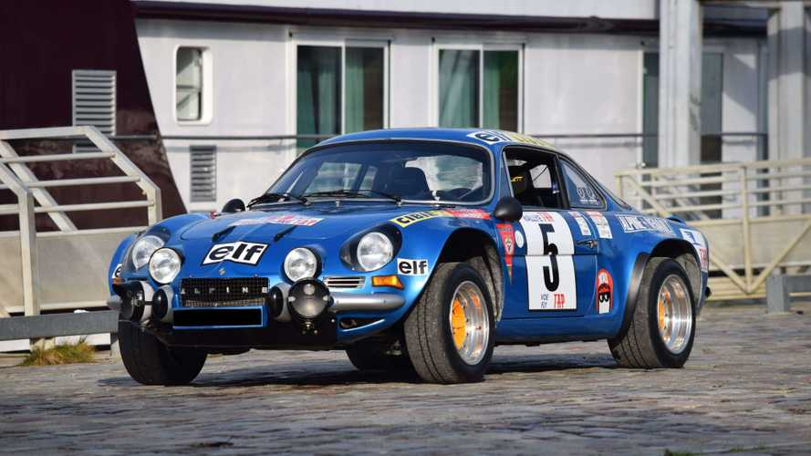 WRC Rally-Winning Alpine A110 Joins Artcurial Paris Auction