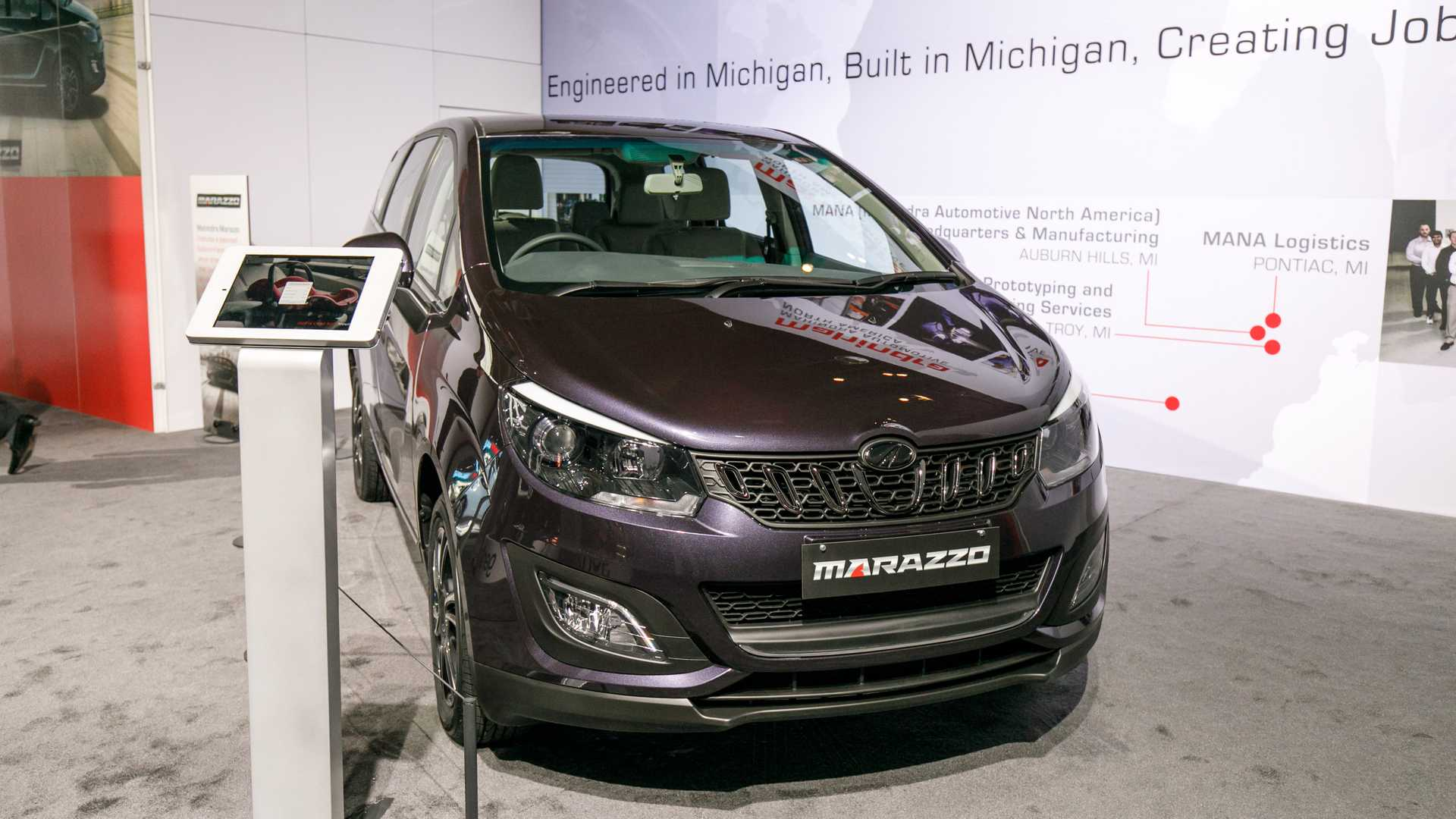 The Mahindra Marazzo Might Be The Best Car At Detroit [UPDATE]