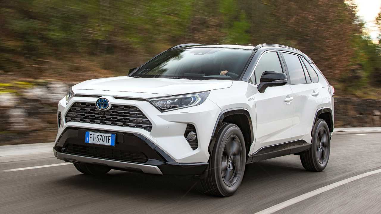 toyota rav4 hybrid 2019 im test bilder. Black Bedroom Furniture Sets. Home Design Ideas